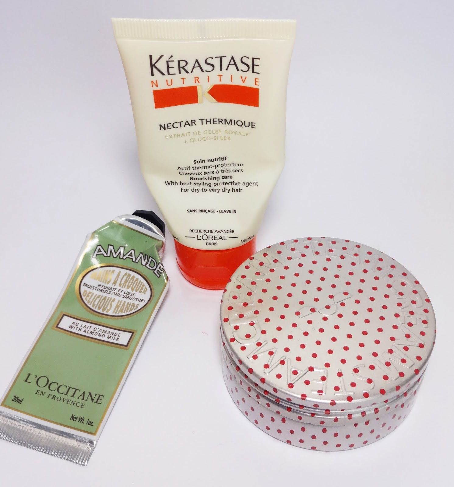 L'Occitane, Kerastase, Steamcream