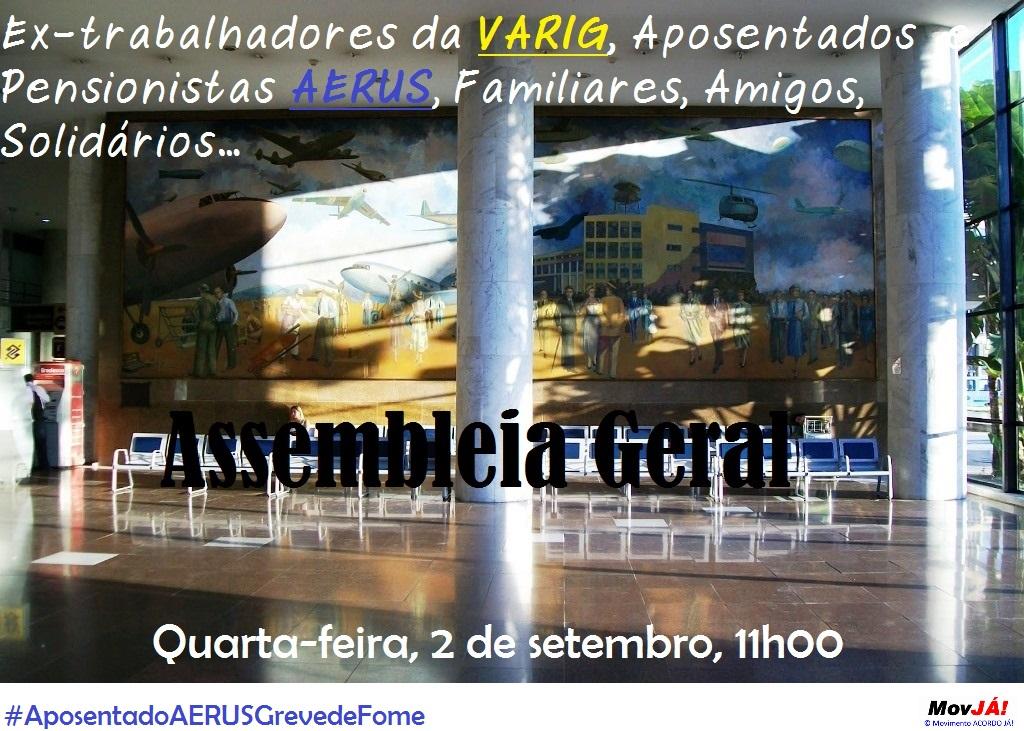 Varig/Aerus: Assembleia Geral