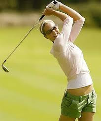 Anna Rawson Female Golf Player Hot Images And Pictures.
