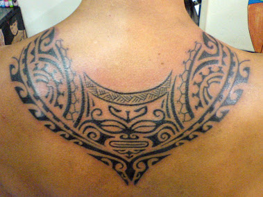polynesian style back piece