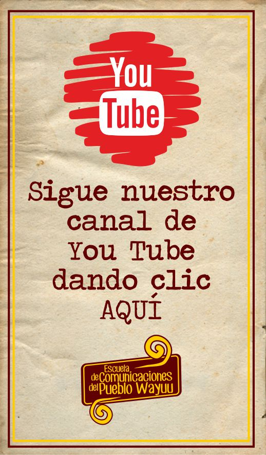 Sigue nuestro canal YouTube
