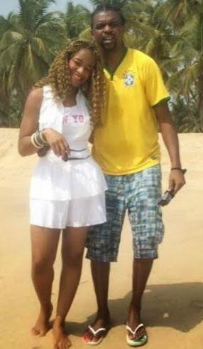 photo check out kanu nwankwo his beautiful wife and
