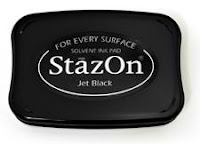 Stampin'UP! Staz-ON Black Ink Pad