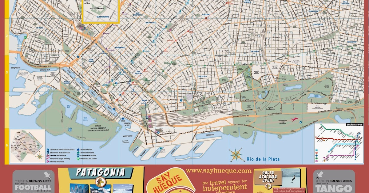 South America Owen and Marcela Buenos Aires Argentina – Tourist Map Of Buenos Aires