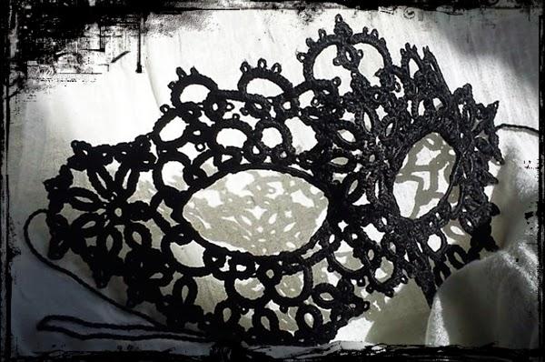 Maska Frywolitkowa #2