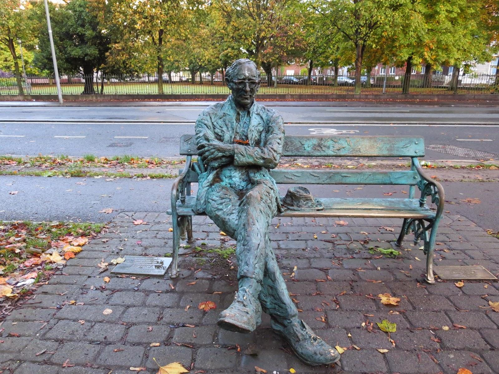 Patrick Kavanagh Sculpture Dublin