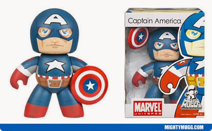 Ultimate Captain America Marvel Mighty Muggs Wave 5