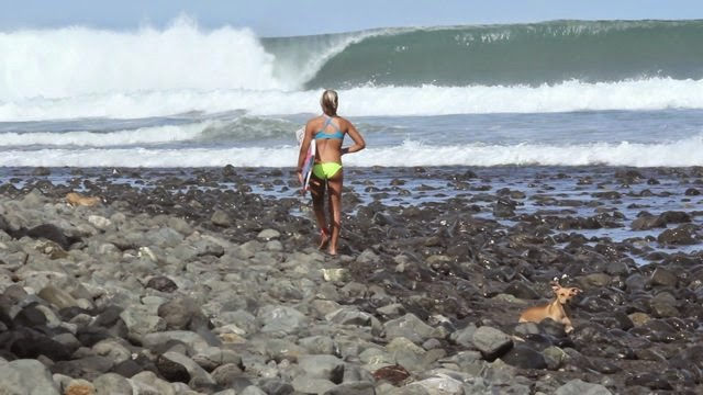 Leilani To surf one minute more
