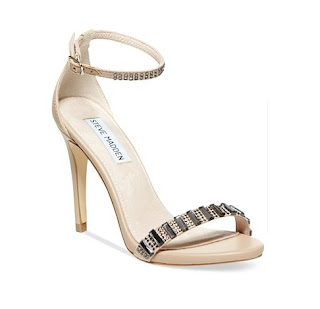 Steve Madden Nude Barely There High Heels