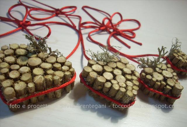 Tocco di li 39 lla 39 5 decorazioni natalizie in legno con tutorial - Decorazioni natalizie finestre ...