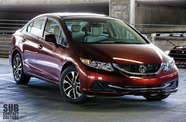 2013 Honda Civci EX front