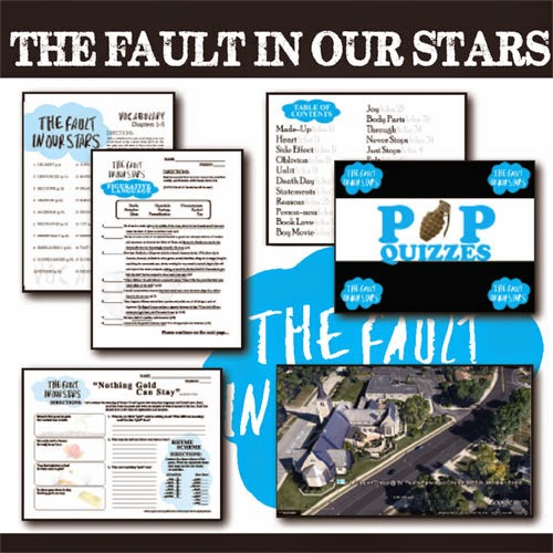 FAULT IN OUR STARS Unit Teaching Package (author: John Green) by Created for Learning