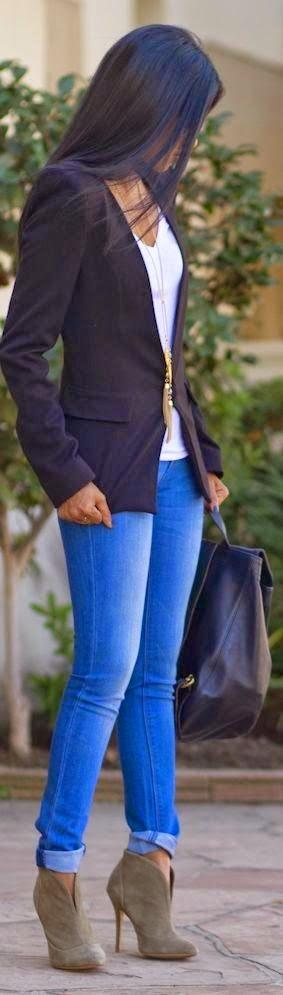 Tipos de cortes de piernas para Jeans