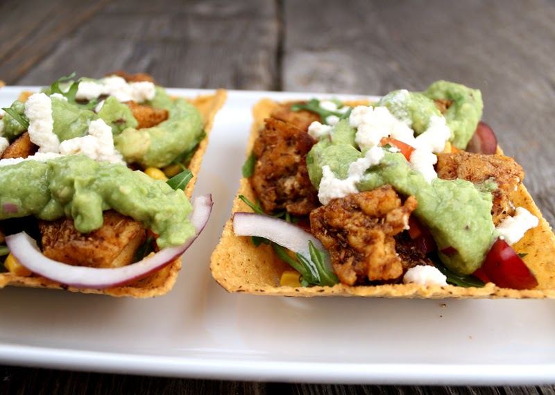 Oppskrift Tofu Taco Hjemmelaget Tacokrydder Vegetar Kjøttfri