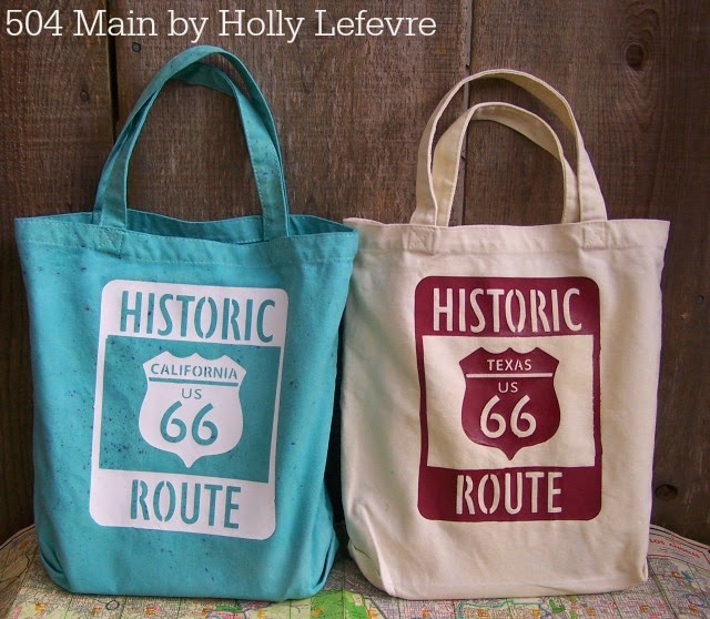 Route 66 Tote Bag by 504 Main