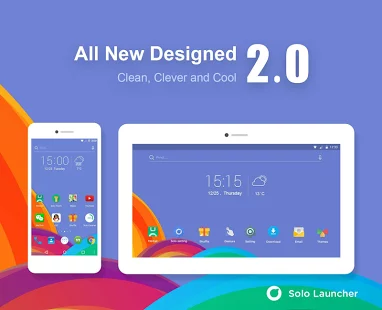Solo Launcher Clean & Clever v2.0.7 Apk