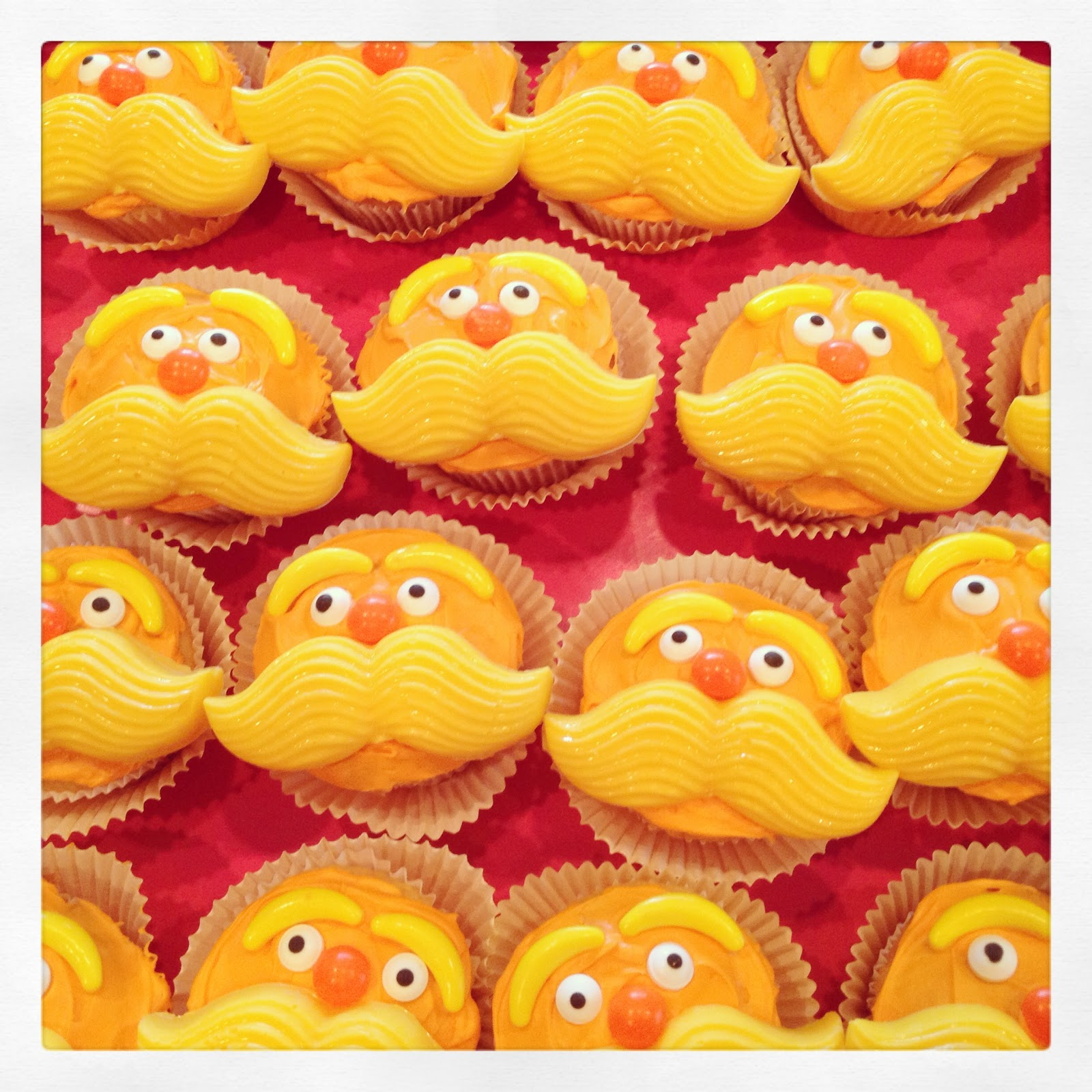 Marci Coombs The Lorax Cupcakes