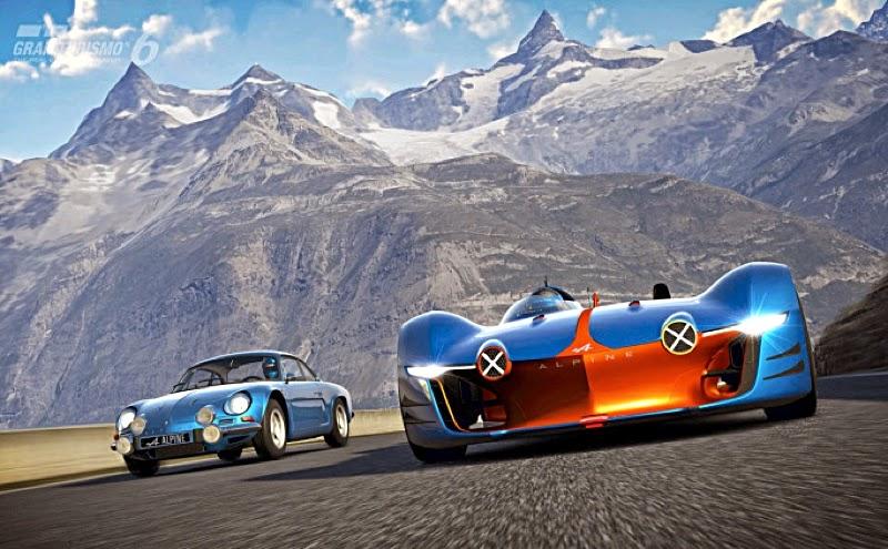 Scale Model News Revealed Renault Alpine Vision Gran Turismo Auto