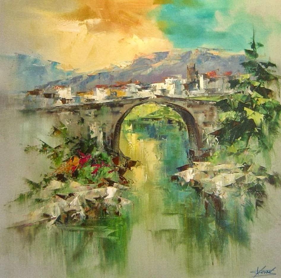 Pejzaži u slikarstvu... - Page 2 Landscape+Paintings+by+Josep+Teixido+%285%29