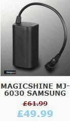 Magicshine MJ-6030 Samsung Battery