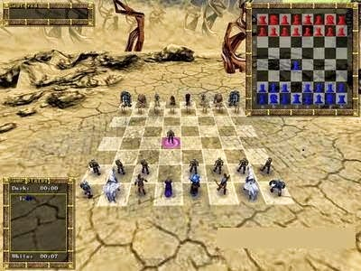 3D War Chess Game For Pc