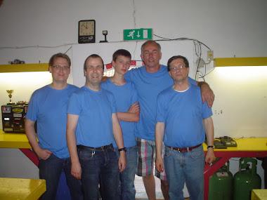 Eerste Roadrunnersteam 2011