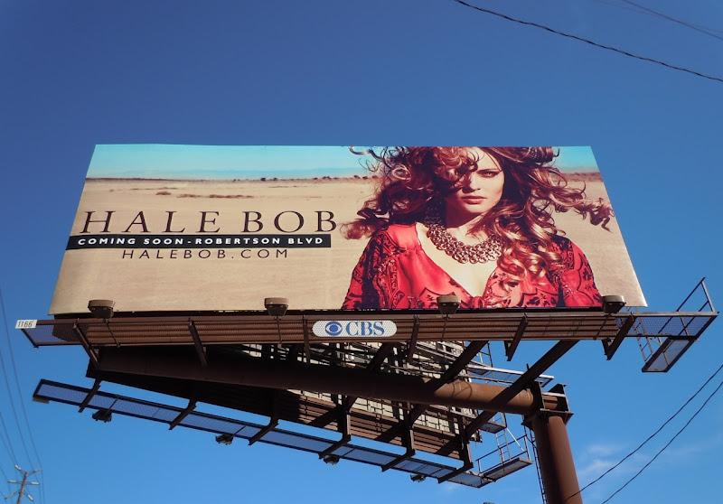 Hale Bob Robertson Blvd store billboard