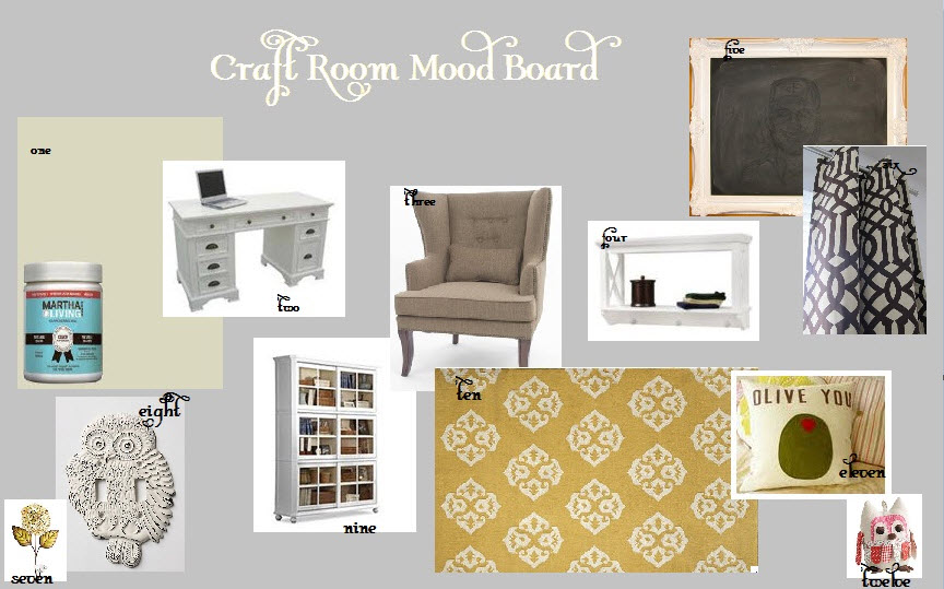 the inspired collection create my own craft room