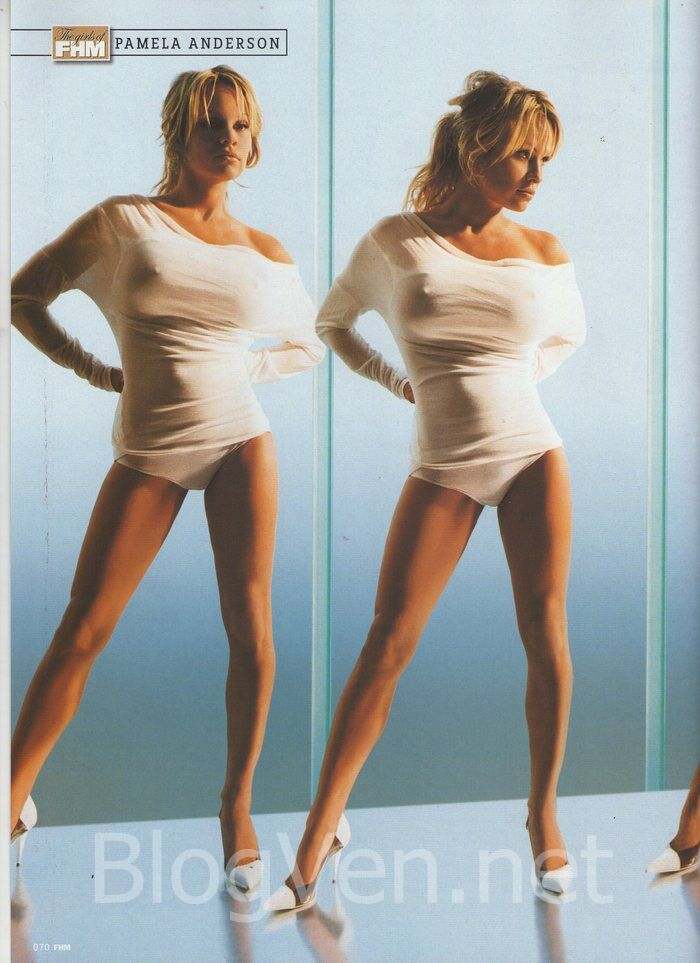 Perfect Girls: Pamela Anderson Hot FHM Magazine Photos