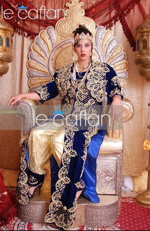 Nouveaux caftan alg rien 2015 haute couture de tissu tr s - Service a the algerien ...