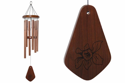 Enter the QMT Limited Edition Daffodil Windchime Giveaway. Ends 7/24.