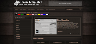 Collector Blogger Template is a Galley Style Blgger Theme