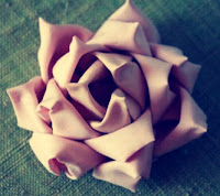Mayumi Rose Fabric Flower Tutorial