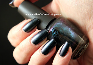 w7 neptune blue nail polish