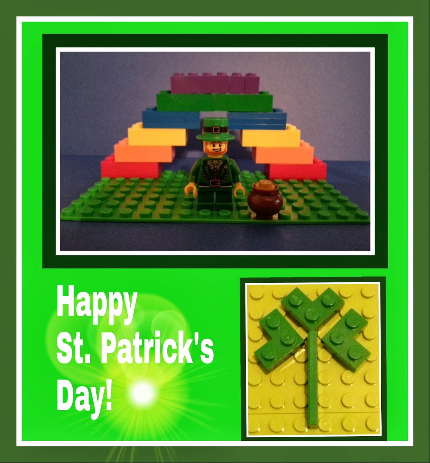 St. Patrick's Day LEGO Fun