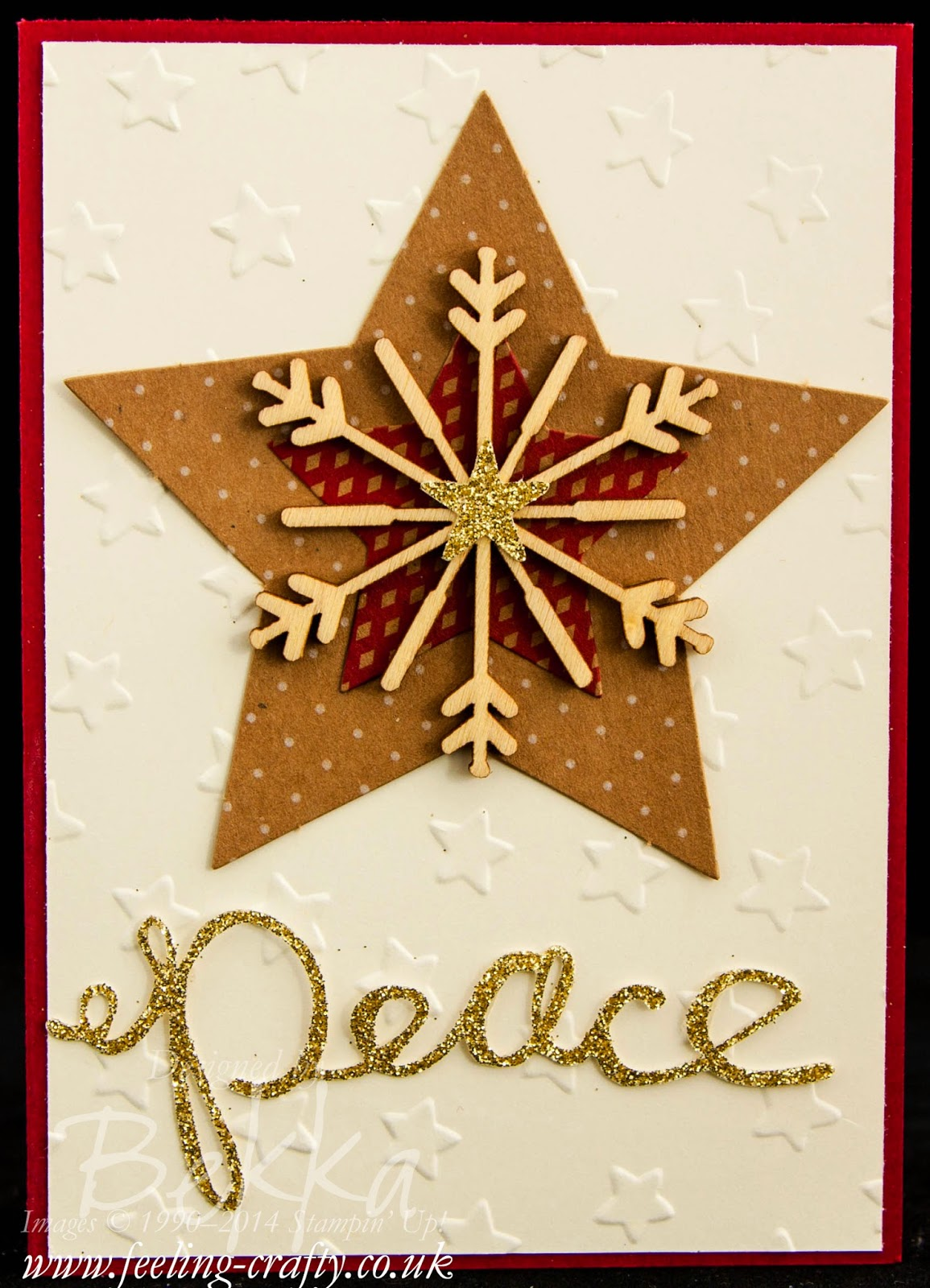 Many Merry Stars Simply Created Kit - A Card