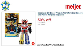 Imaginext Transforming Batcave Power Rangers Morhin Megazord Black Friday sale cheap Batman Fisher-Price アメコミ イマジネックスト