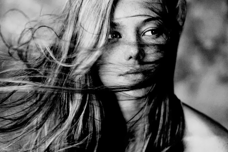 Чёрно Белые Фото Девушек