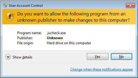 What is Jucheck.exe; keep it or remove? - Microsoft Community