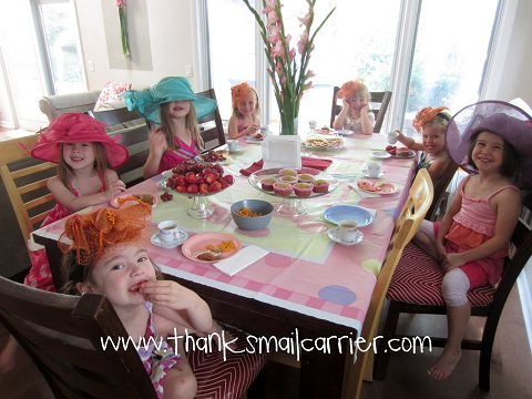 kids tea party