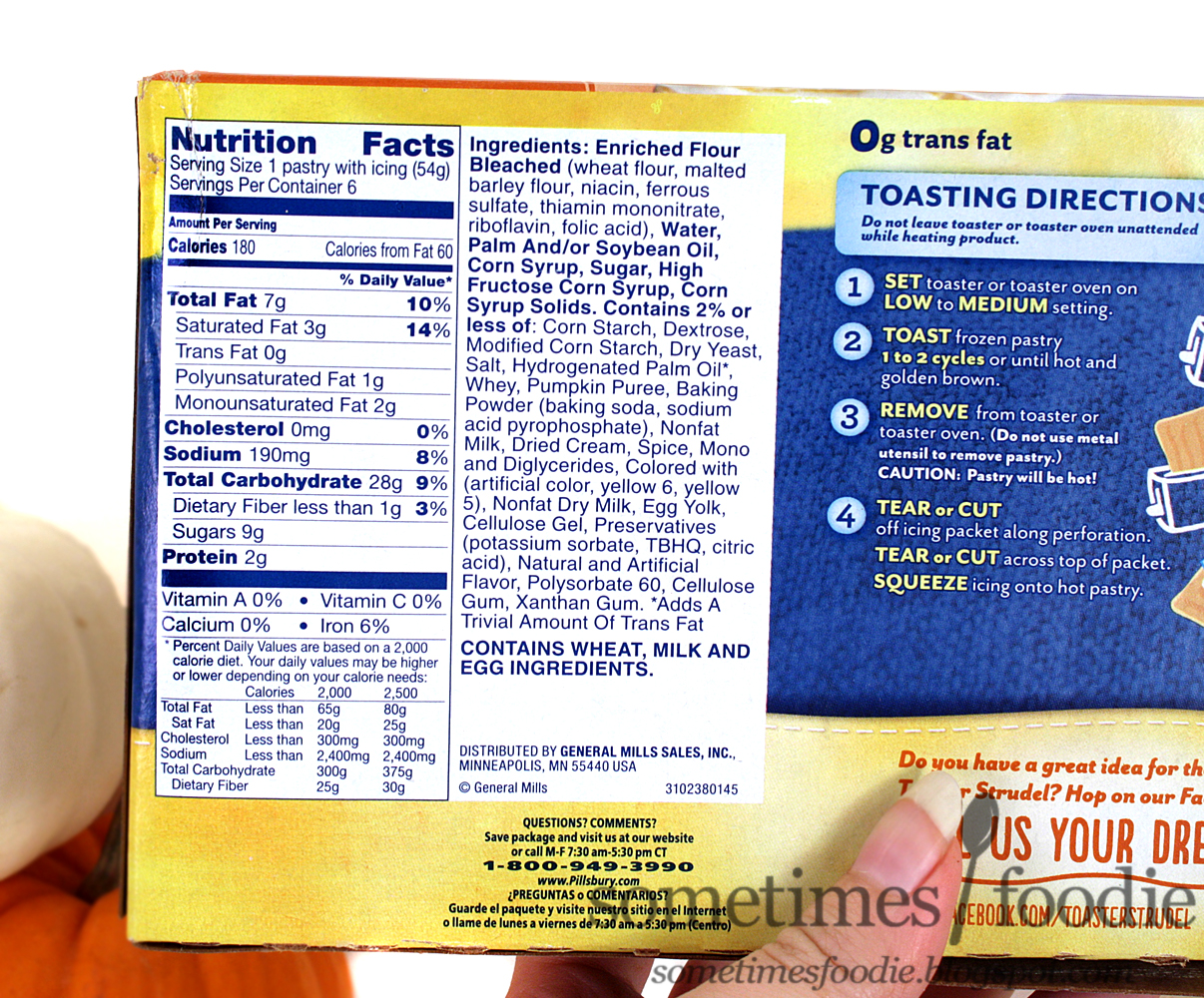 I'm going to skip over the packaging, since I already discussed it in my last Toaster Strudel post, and I'm going to get right down to the eating portion of ...