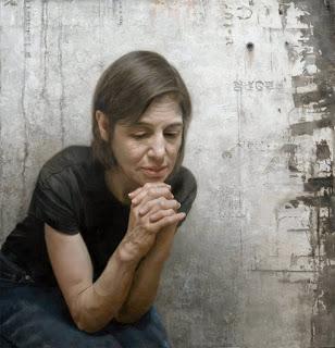 "Aunt Dale In Contemplation 20"" x 23"" / oil  /  2009"
