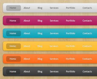 Menu đơn Lavalamp với CSS3 và  jQuery cho Blogger