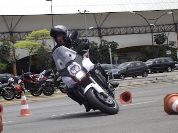 Fernando, com sua Versys 1000