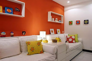 laranja na sala