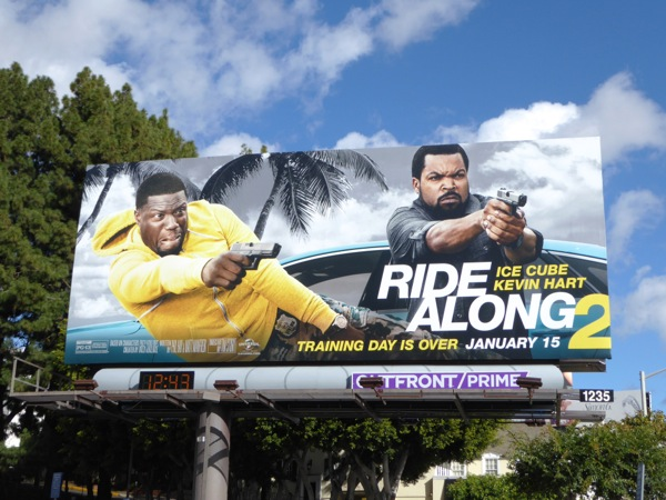 Ride Along 2 movie billboard