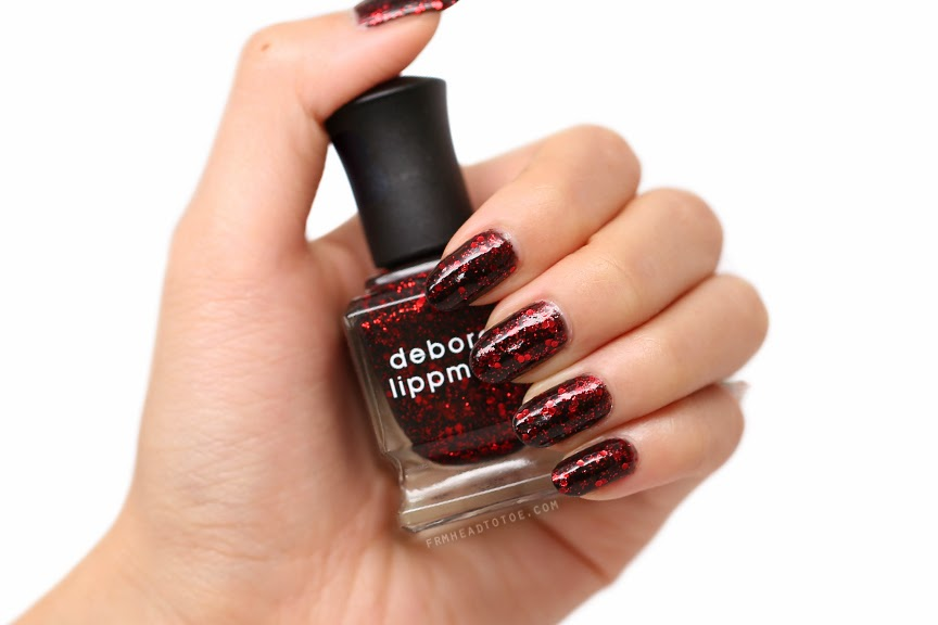 Manicure Monday Deborah Lippmann Ruby Red Slippers
