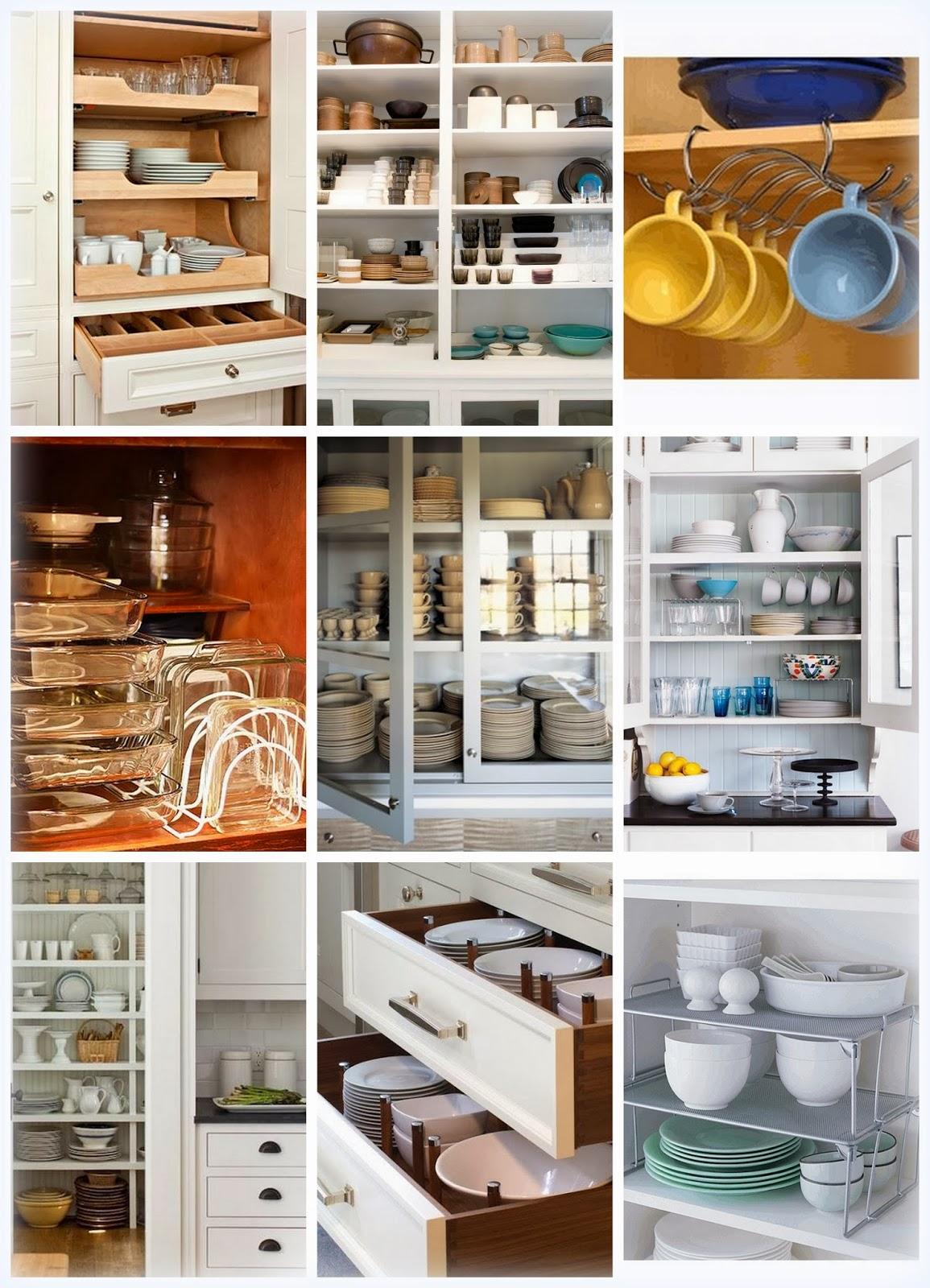 Cozinha bacana como organizar o arm rio de lou as m e bacana - Como organizar armarios ...