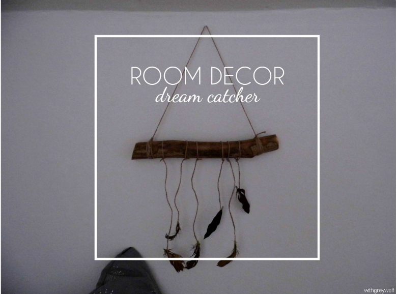ROOM DECOR: diferent dream catcher DIY