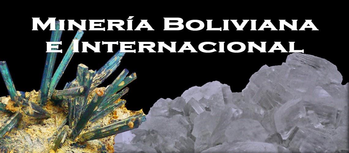 Minería Boliviana e Internacional